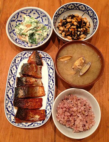 魚介や大豆で蛋白質を摂れるヘルシー献立