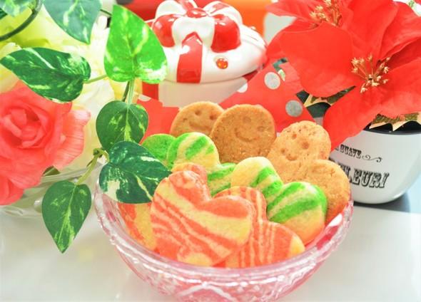 ハートのクッキーXmas☆