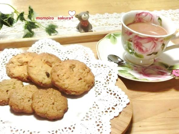 ♡2種のクッキーでティータイム♡