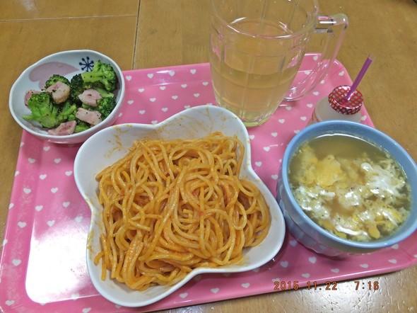 ◎長男の朝食◎2015・11・22