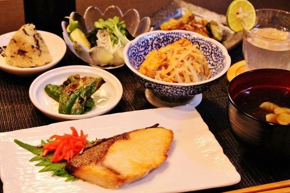11.25❀ブリの塩焼きで晩ご飯❀