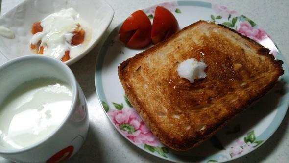 じゃがいも食パン×柿ウサギ♥