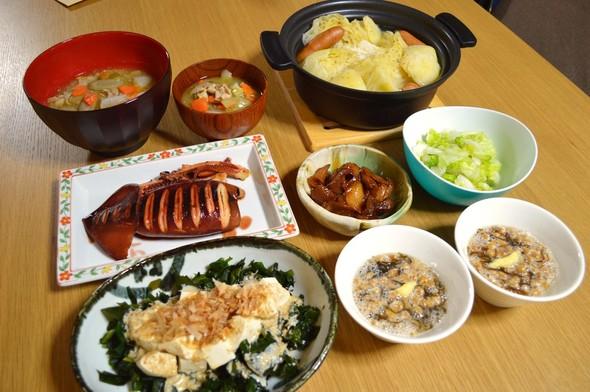 我が家の晩ご飯【2015.11.28】