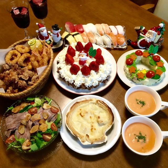 クリスマスイブの晩ご飯~♪ by にきけん [クックパッド] みんな