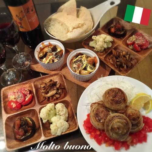 """お家で """"イタリアン""""(o^^o)"""