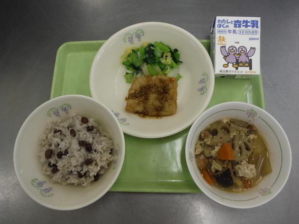 山口県の郷土料理を取り入れた献立