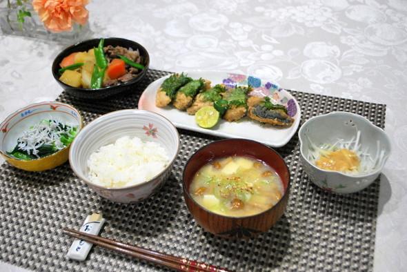 和食定番の肉じゃがで晩御飯♪