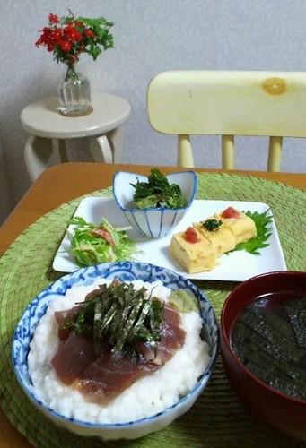 13.07.04(木)マグロやまかけ丼★