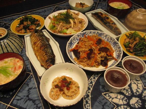 2016/2/24受験前夜の夕食