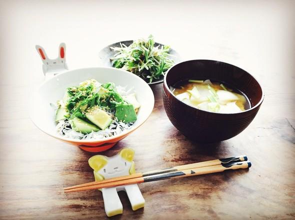 しらすたっぷり朝ご飯☆