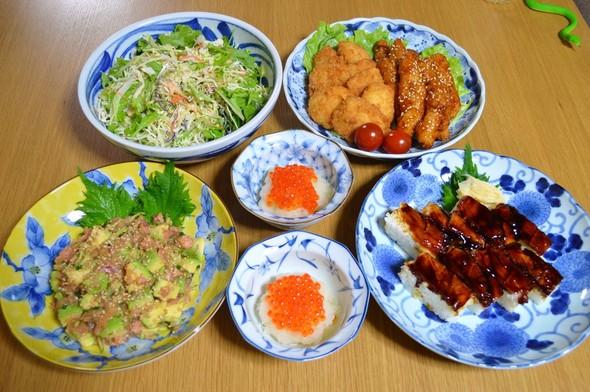 我が家の晩ご飯【2016.4.1】
