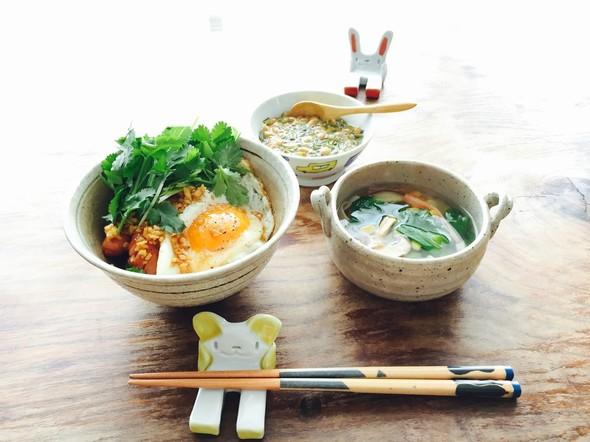 休日のお昼ご飯☆