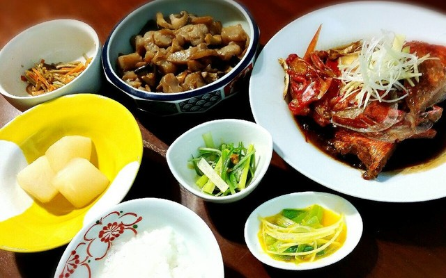 煮付け 菜 の カレイ 副