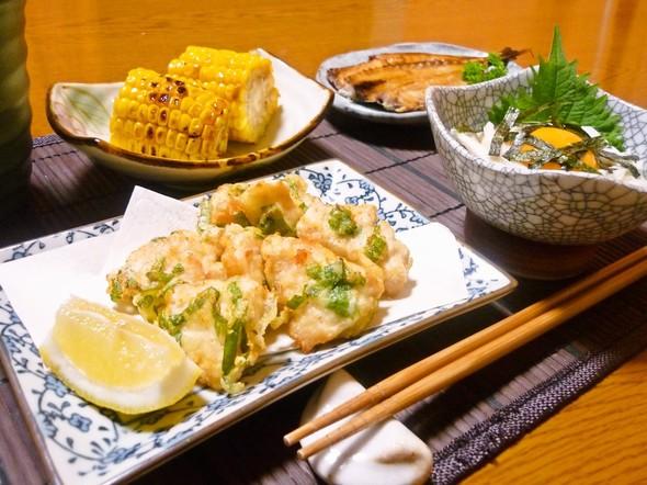 ✿夏の夕食✿