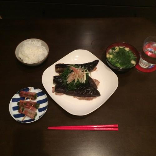 肉×野菜*一人晩ごはん