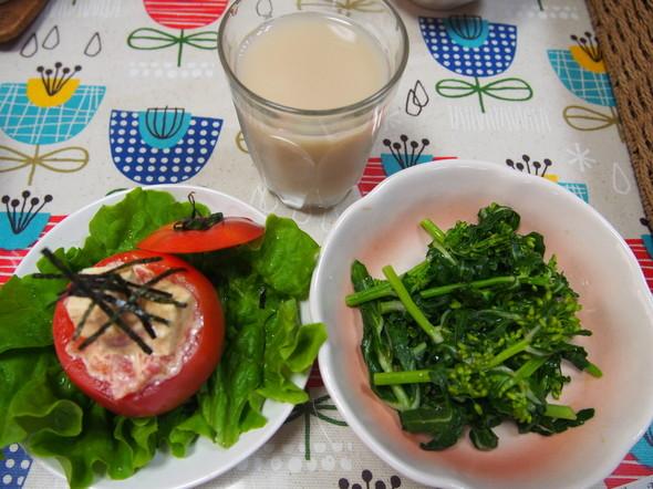 野菜が食べたかったある日の私の昼食☆