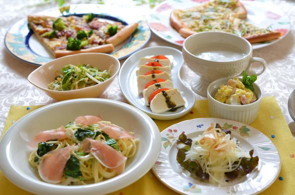 お野菜たっぷりで☆イタリアンな夕食