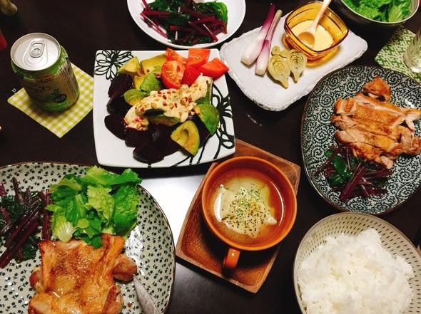 オサレ野菜の定食☆彡