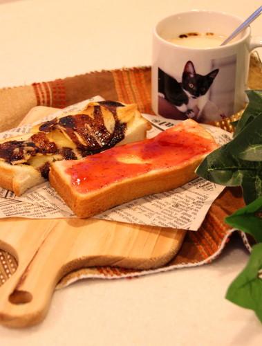 お一人様^^♪トーストモーニン