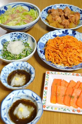 我が家の晩ご飯【2016.5.12】
