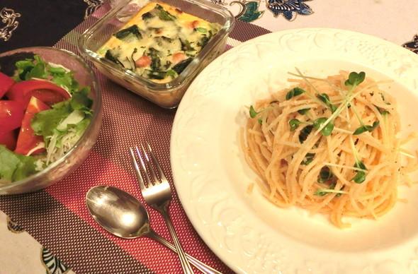 我が家の洋食メニュー☆ある日の夕飯