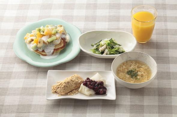 マラソン大会当日☆朝食メニュー