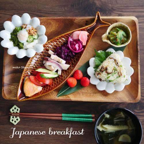ネバネバ大作戦♪彩り&繊維たっぷり朝ご飯