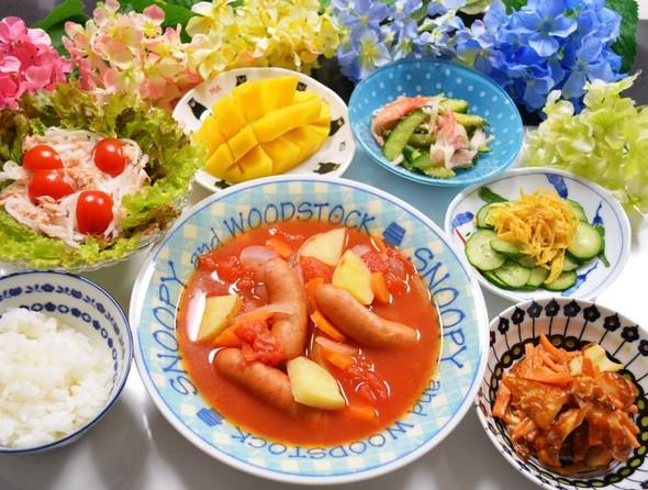 父の日の夕ご飯