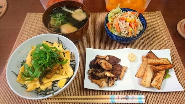 穴子丼な晩ごはん♪