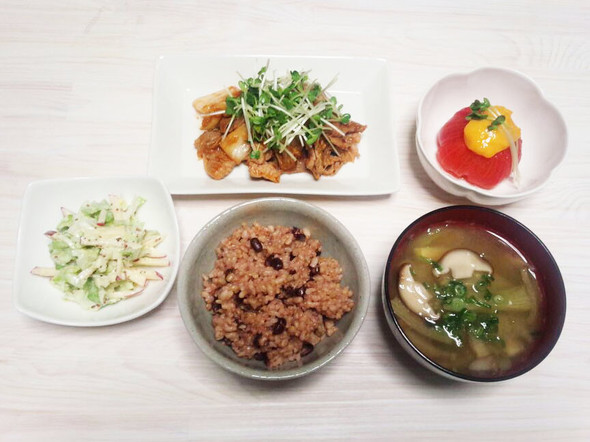 ダイエット52日目のメニュー(夕食)