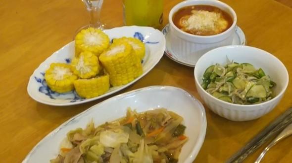 父ちゃんの夕食