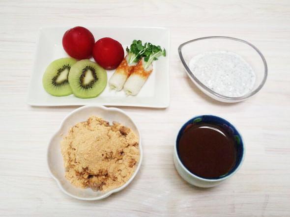 ダイエット102日目のメニュー(朝食)