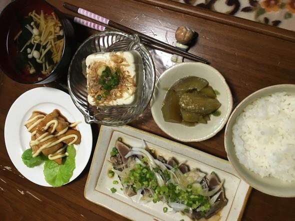 7月6日☆夜ご飯