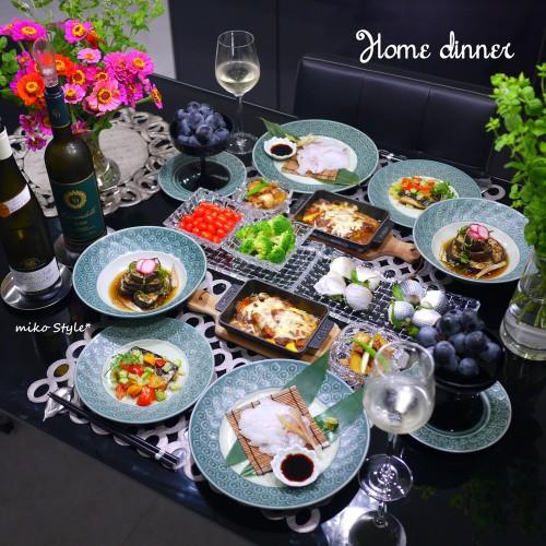 旬の野菜ズッキーニ・茄子で晩ご飯♪