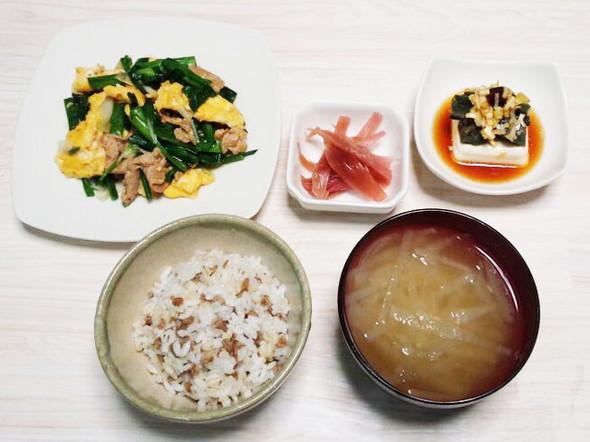 ダイエット24日目のメニュー(夕飯)