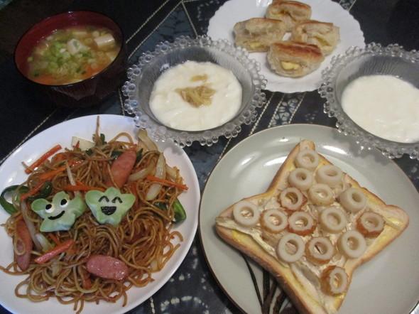 2016/7/23娘と豪華な朝食