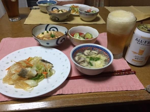 中華メニューで夕ご飯♪