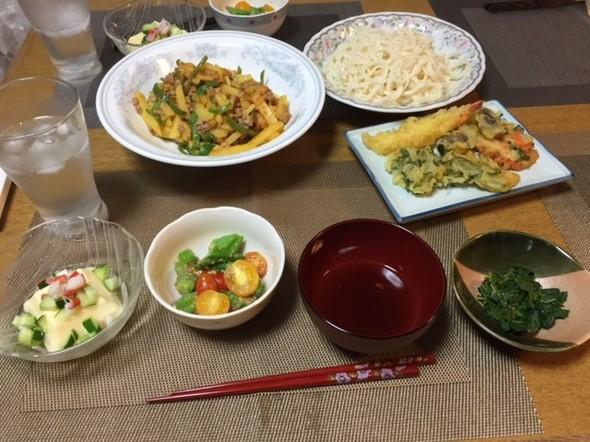 赤・緑・黄色の美味しい夕ご飯♪