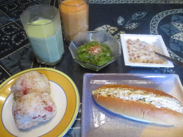 2016/8/26娘とわけわけな朝食