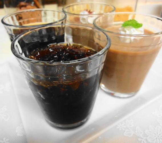 コーヒーゼリー×カフェオレプリン