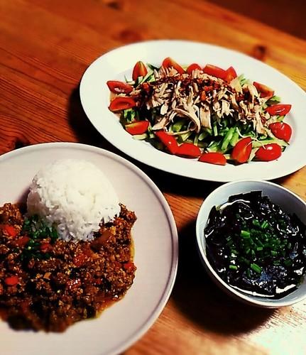 野菜たっぷり晩ご飯~