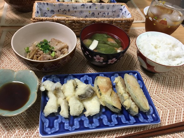 夕食*天ぷら