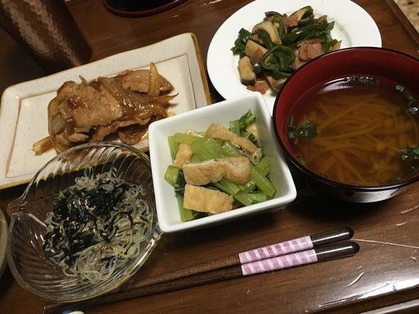 8月21日☆夜ご飯