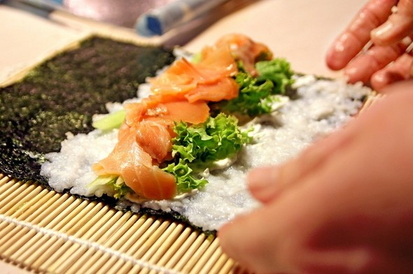 手巻き寿司パーリーのメニュー