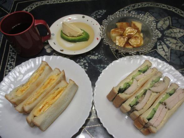 2017/1/14アボカドアイス+の朝食