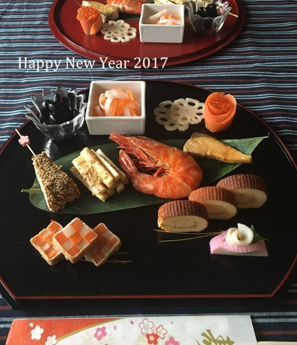 2017 おせちプレート