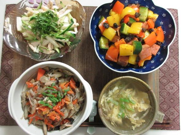 和!トロピカル~スパム和風カレーサラダ