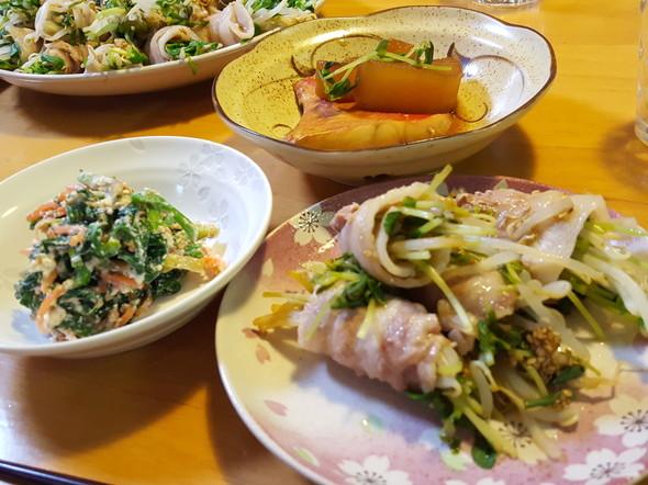 金目鯛の夕食!