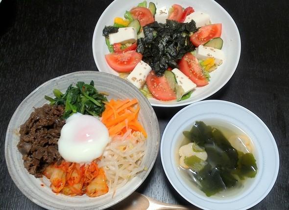ビビンバ!韓国風定食