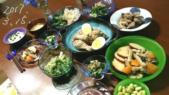 春♪豆ご飯と美味しい副菜色々♪